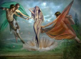 The Birth of Venus by Manink