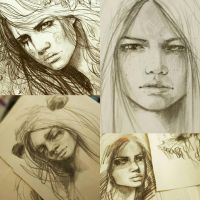 portraits by ElinasArt