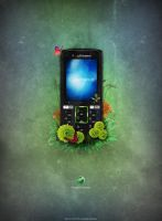 Sony Ericsson k850i by PhotoUpDown