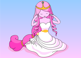 Princess Bubblegum by 17autilus