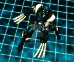 Wolverine Enters The Grid by tclarke597
