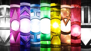 The Lantern Corps Wallpaper Pack by OverdrivenZX
