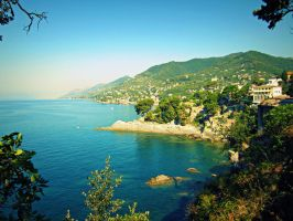 Camogli view by JackArgetlam