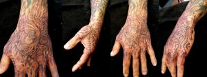 Martins Hand by phoenixtattoos