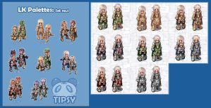 Lord Knight Palettes: Set no.1 by Shrii