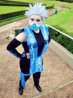 Cosplay Frost - Mortal Kombat by AndroideDezoito