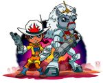 Lil Bravestarr and 30 30 by lordmesa