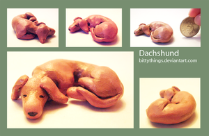 Dachshund - SOLD by Bittythings
