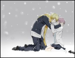 tears of snow Ryota x Ume KnB by kairi-tenchii