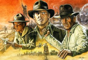 Indiana Jones History by Habjan81
