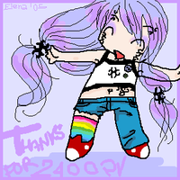 Thanks for 2400 pv - UME by Alquimia