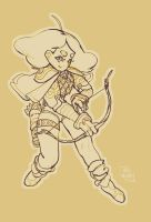 muddy archer lineart by the-muddy