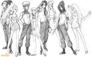 20 Something - Naruto Group by duneboo