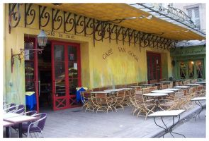 Cafe Van Gogh by XElYX