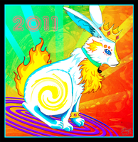 Year Of The Rabbit 2011 by carnivalcat