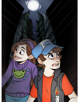 gravity falls by stuck-at-home
