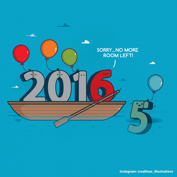 Leave the past behind and welcome to a new year by NaBHaN