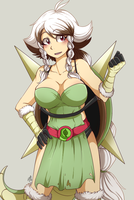 CM - gijinka chesnaught by mr-tiaa