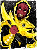 Yellow Lantern Worf by misfitcorner