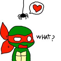 raph isnt gonna like this by Pikura