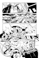 DC Harley Quinn inks contest by DRPR