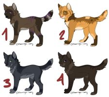 Canine Point Adoptables 9 by Mustang-ADOPTS
