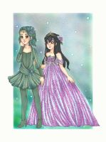 Fairy Ball Brizo and Eve by chelleface90