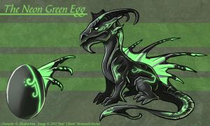 The Neon Green Egg - Adoptable by Ulario