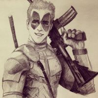 Ryan Reynolds Deadpool by ninjason57