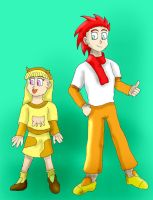 Humanized Cow and Chicken by SSJGarfield
