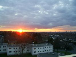 Sunset right now by Nokixel