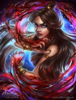 Katara The Bloodbender by Amourinette