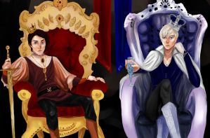 Two Kings by Annwolvesbain