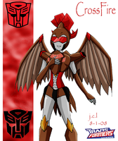 Crossfire- TFA by Cyberwing013