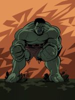 Incredible Hulk Gray by EryckWebbGraphics