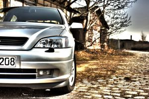 Opel Astra G HDR by PixelwolfPhotography