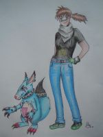 """.:request:. """"Taz and Howlmon"""" by Destroma"""