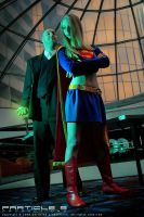 Lex Luthor vs. Supergirl by tenimeart