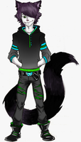 OC: Sirvice Zx Casual by lepreconfox