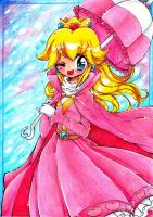 SS: Queen Peach by PaperLillie