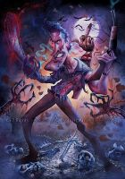 Ash vs Evil Dead by AnthonyGeoffroy