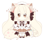 CYOP Floral Kitten Adopt Set Price [open] by aoneco-san