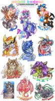 COM: Gummi Badges Galore! by carnival