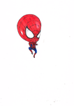 Baby Spidey by scarredblue