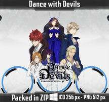 Dance with Devils Anime Icons by PrimaRoxas