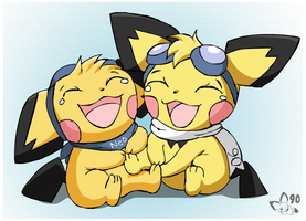 Double Tickle by pichu90
