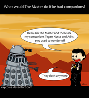 What would The Master do if... by caycowa