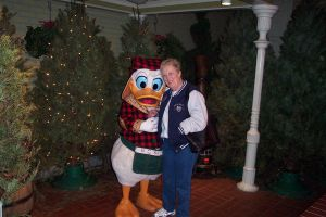Mom and Donald Duck by TheJokesOnYou