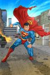 Superman the Man of Steel by DavidRabbitte