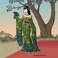 Geisha Girl by WhisperingWindxx